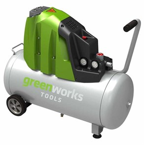 Greenworks GAC50L, компрессор электрический, 8 bar