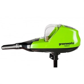 Greenworks G40TM55, лодочный мотор аккумуляторный, 40V, 25 кг, без АКБ и ЗУ