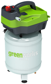 Greenworks GAC24V, компрессор электрический, 8 bar