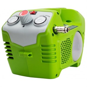 Greenworks G40AC, компрессор аккумуляторный