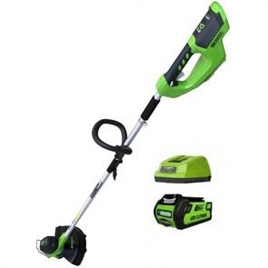 Greenworks G40LTK2, триммер аккумуляторный