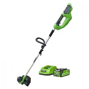 Greenworks G40LTK4, триммер аккумуляторный
