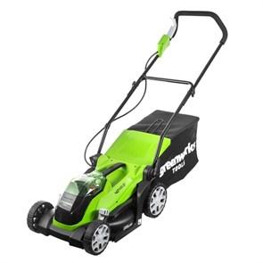 Greenworks G40LM35K6, газонокосилка аккумуляторная