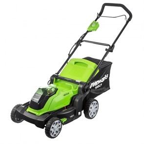 Greenworks G40LM41K3, газонокосилка аккумуляторная