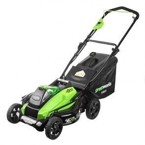 Greenworks GD40LM46 газонокосилка аккумуляторная
