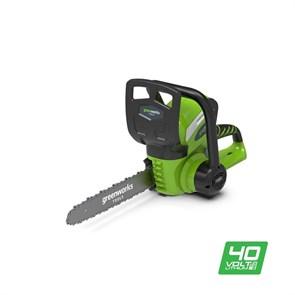 Greenworks G40CS30, цепная пила аккумуляторная, 30 см, без АКБ и ЗУ