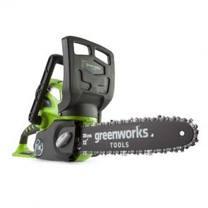Greenworks G40CS30K4, цепная пила аккумуляторная