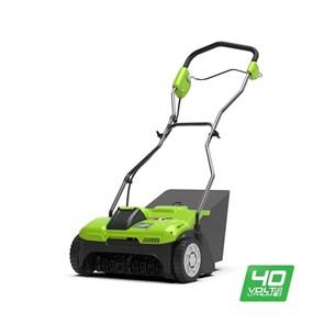 Greenworks G40DT30, аэратор аккумуляторный