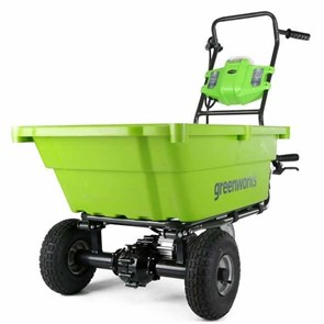 Садовая тележка самоходная Greenworks G40GC, 40V, 106 л