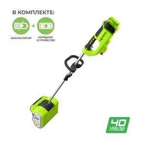 Снегоуборщик аккумуляторный Greenworks GD40SSK4