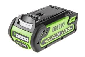 Аккумулятор GreenWorks G40B2, 40V, 2 А.ч