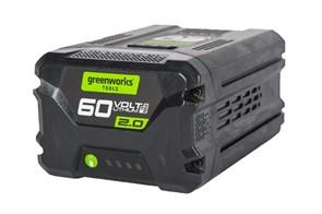 Аккумулятор GreenWorks G60B2, 60V, 2 А.ч