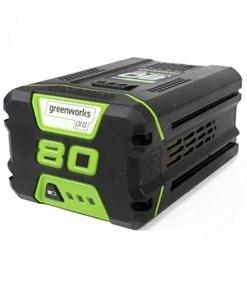 Аккумулятор GreenWorks G80B2, 80V, 2 А.ч