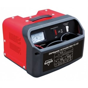 ELITECH УЗ 10 устройство зарядное