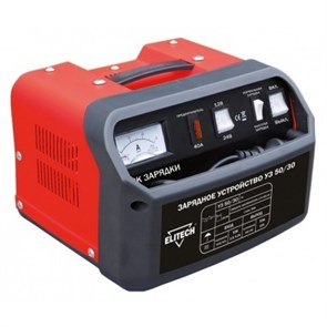 ELITECH УЗ 50-30 устройство зарядное