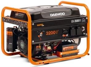 Генератор двухтопливный газовый DAEWOO GDA 3500DFE