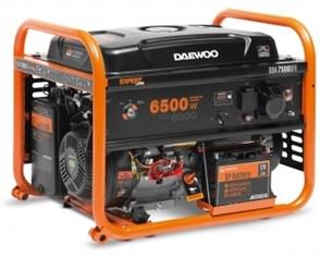 Генератор двухтопливный газовый DAEWOO GDA 7500DFE