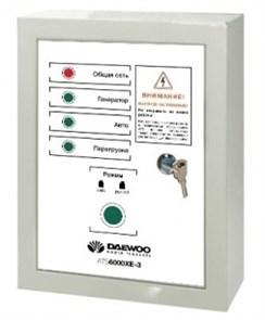Блок автоматического управления генератором DAEWOO ATS 6000XE-3
