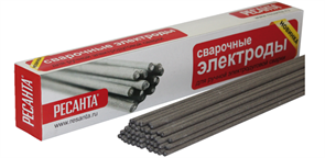 Электрод Ресанта МР-3 Ф3,0 Пачка 3 кг