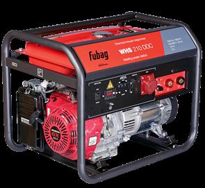 FUBAG WHS 210 DDC бензиновый сварочный генератор