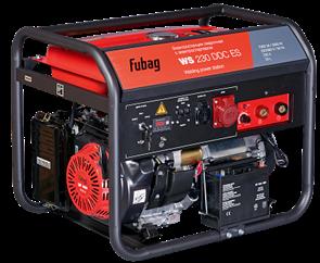 FUBAG WS 230 DDC ES бензиновый сварочный генератор