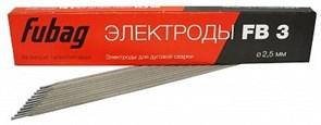 Электроды FUBAG FB 3, д. 2.5 мм, пачка 1 кг