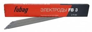 Электроды FUBAG FB 3, д. 4мм, пачка 5 кг