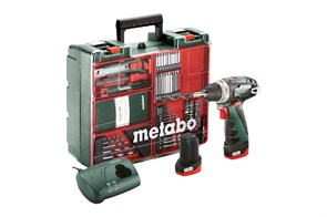 Metabo PowerMaxx BS Basic Set Аккумуляторная дрель-шуруповерт, 600080880