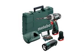 Metabo PowerMaxx BS Basic Set Аккумуляторная дрель-шуруповерт, 600080930