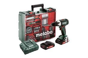 Metabo BS 18 LT Set Аккумуляторная дрель-шуруповерт, 602102600