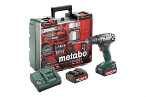 Metabo BS 14.4 Set Аккумуляторная дрель-шуруповерт, 602206880