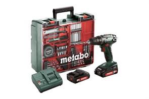 Metabo BS 18 Set Аккумуляторная дрель-шуруповерт, 602207880