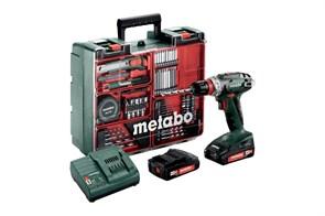 Metabo BS 18 Quick Set Аккумуляторная дрель-шуруповерт, 602217880