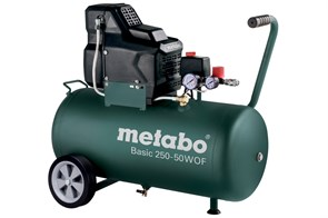 Metabo Basic 250-50 W OF безмасляный компрессор, 601535000