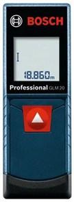 Лазерный дальномер BOSCH GLM 20, 0601072E00