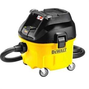 DeWalt DWV901L-QS Промышленный пылесос для сухой/влажной уборки класса L