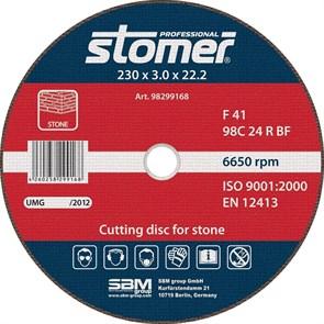 Диск отрезной Stomer CS-230