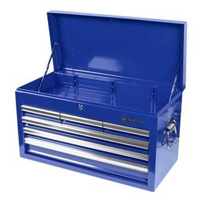Ящик инструментальный, 6 полок, синий МАСТАК 511-06570B