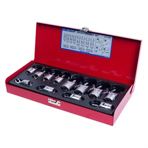 Набор разрезных ключей, 8-19 мм, 12 предметов KING TONY 3612MR