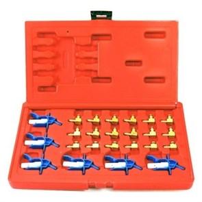 Набор переходников для набора Common Rail, кейс, 24 предметов МАСТАК 120-04024C