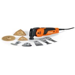 Осциллирующий инструмент: 450 Вт, FEIN SuperCut FSC 500 QSL, для санации керамической плитки/ванных комнат