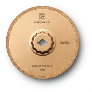Твердосплавное пильное полотно Fein для удаления трассовых швов, рез 1,2 мм, 105 мм, 1 шт