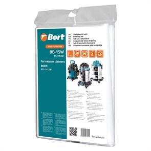 Мешок пылесборный для пылесоса Bort BB-15W  5шт (BSS-1415-W и BSS-1415-Aqua)