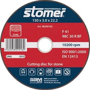 Диск отрезной Stomer CS-150