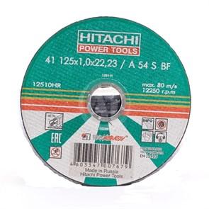 Диск отрезной по металлу 125х1,0х22,2 Hitachi HTC-12510HR