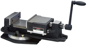 Поворотные машинные тиски 150х40х0-140мм