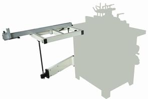 Расширение подвижного стола 450 х 1050 мм с телескопической опорой