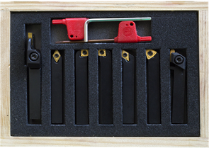 (BD-3,BD-7,BD-X7) набор из 7 резцов сечением 8х8 мм со сменными пластинами