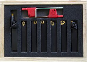 BD-8 набор из 7 резцов сечением 10х10 мм со сменными пластинами