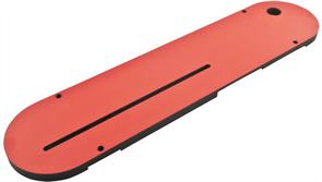 Сменная вставка в пильный стол с уменьшенным зазором для работы пильным диском